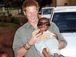 Prince Harry Returns to Lesotho With The Red Cross