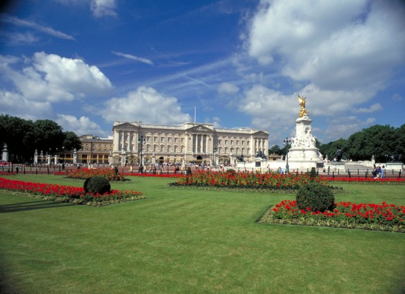 Buckingham Palace, via VisitBritain Images