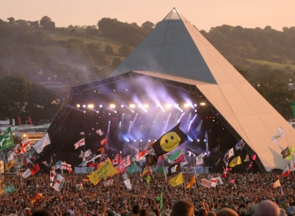 Glastonbury, via VisitBritain Images
